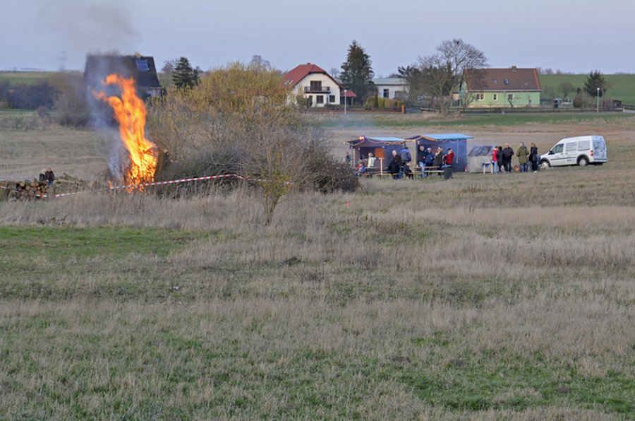 Osterfeuer 2016 01