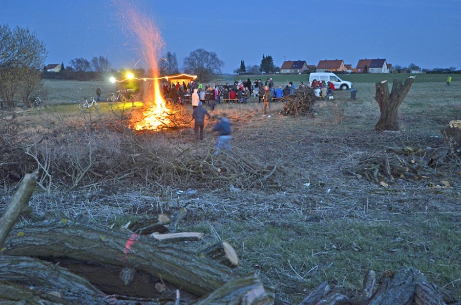 Osterfeuer 2016 10