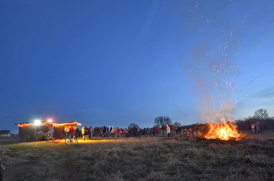 Osterfeuer 2016 14